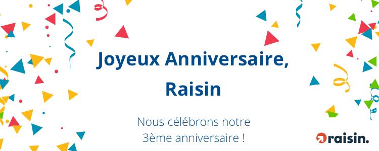 Plus de 2 milliards d'euros investis via Raisin